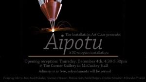 Aipotu Poster